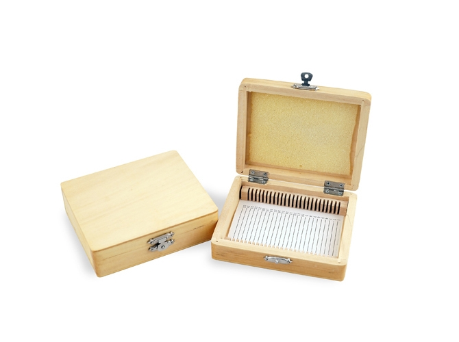 Microscope slides transport box