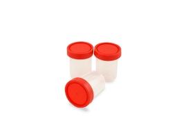 Recoltor universal, capac rosu filetat, ambalat individual